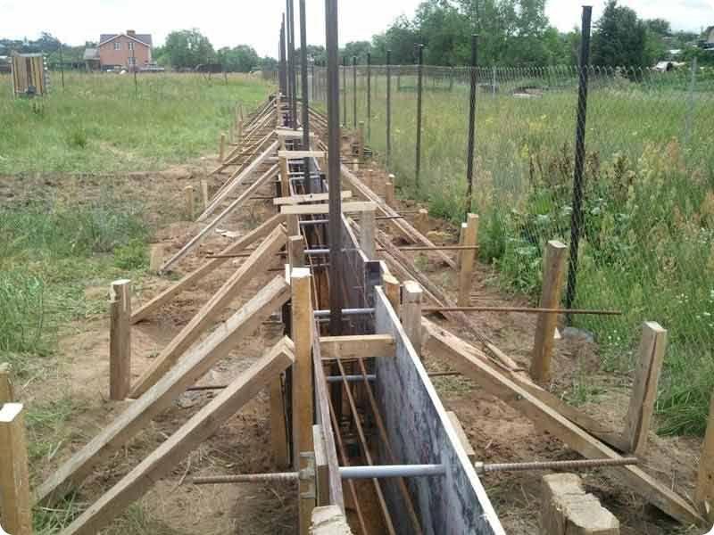 coffrage de clôture