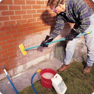 Protection des briques