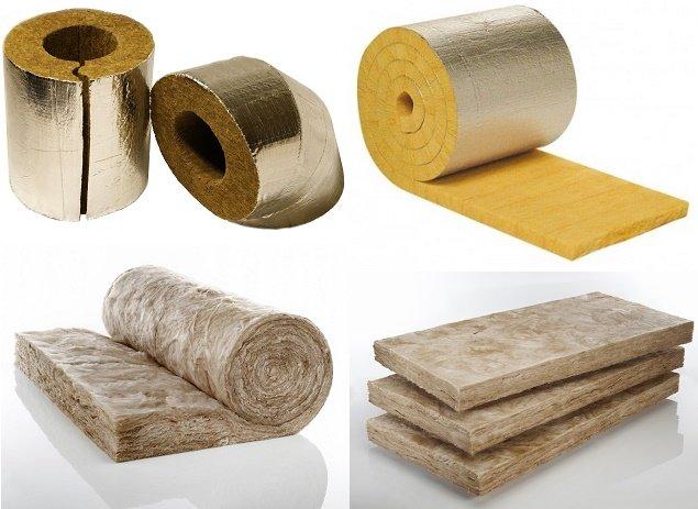 les types de laine minérale