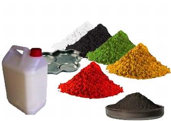 Plastifiant et colorant