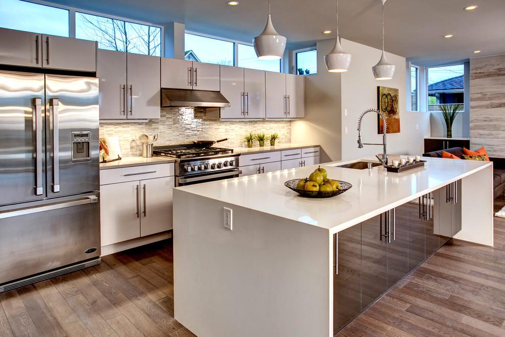 La qualité des matériaux utilisés pour la finition des cuisines est une garantie de leur longévité.