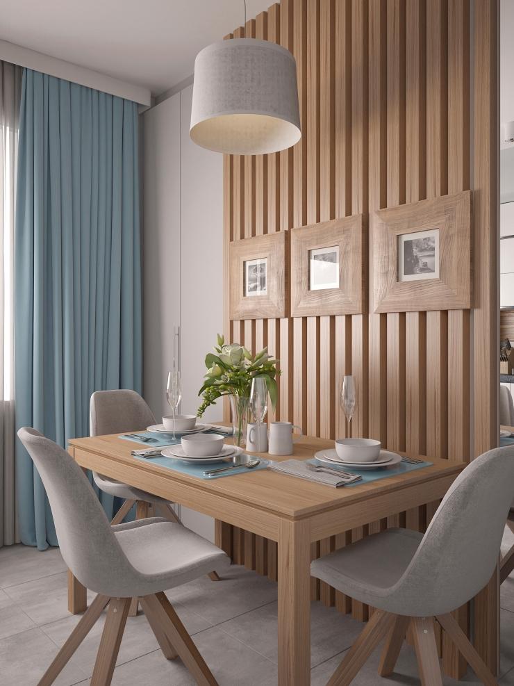 Intérieur de cuisine élégant et harmonieux