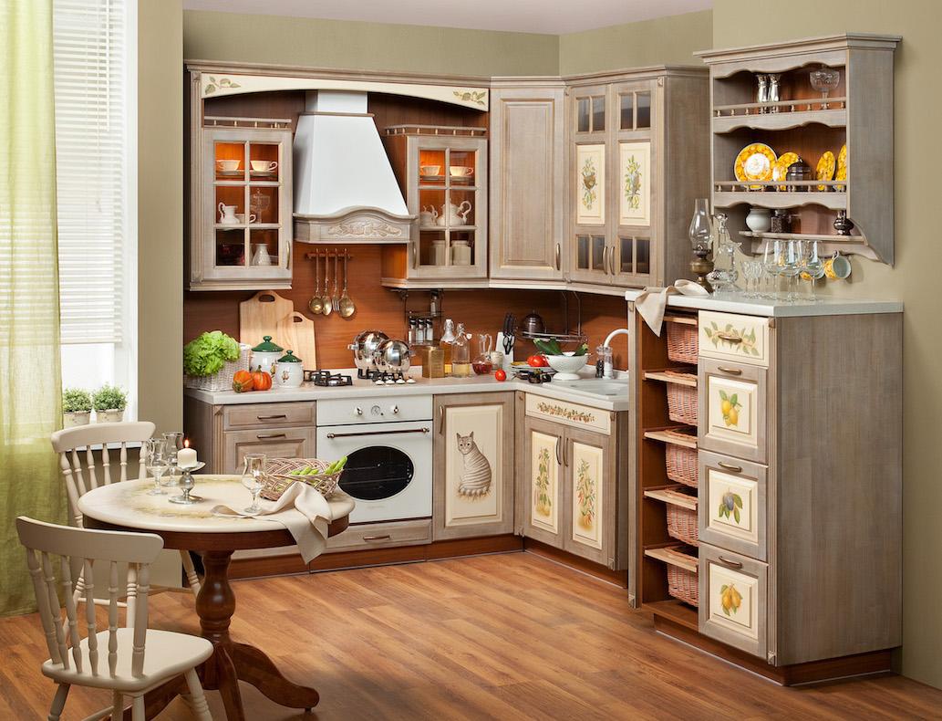 Un intérieur de cuisine dont les façades ont été modernisées aura l'air neuf.