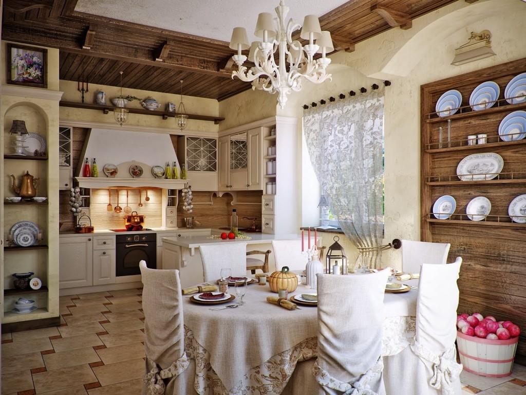 Utilisez le tissu comme décoration, il donne à l'intérieur une sophistication particulière.