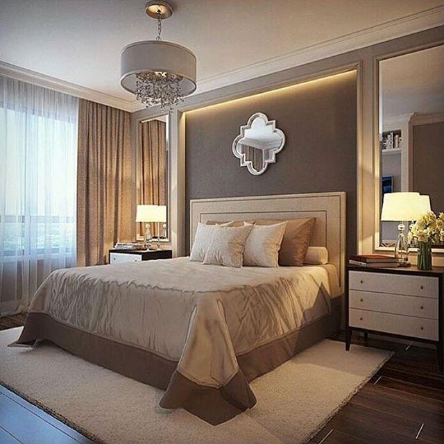 Используйте для спальни только однотонные и спокойные тона