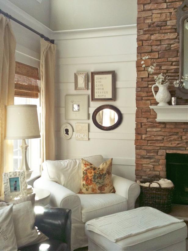 Créer un coin confortable avec une cheminée est possible même dans une petite pièce