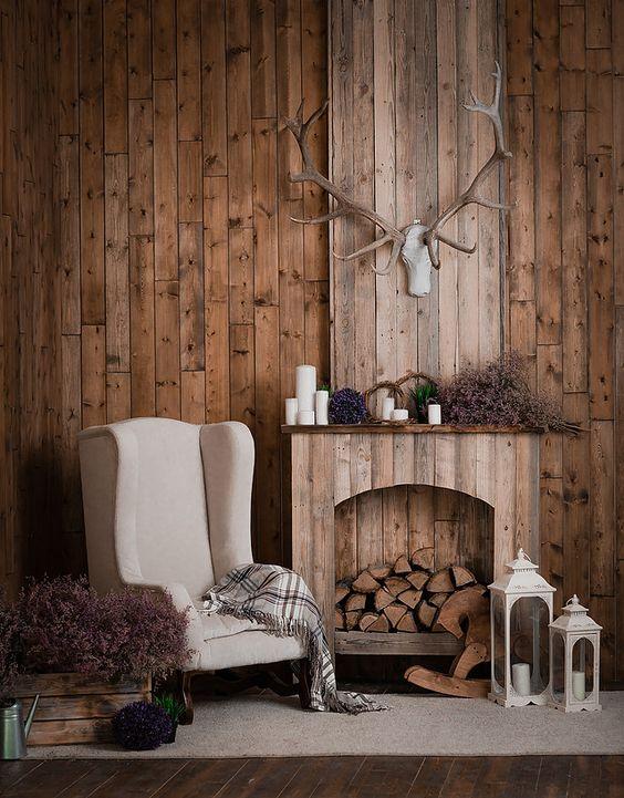 Une fausse cheminée décorative qui réchauffe non pas le corps, mais l'âme !