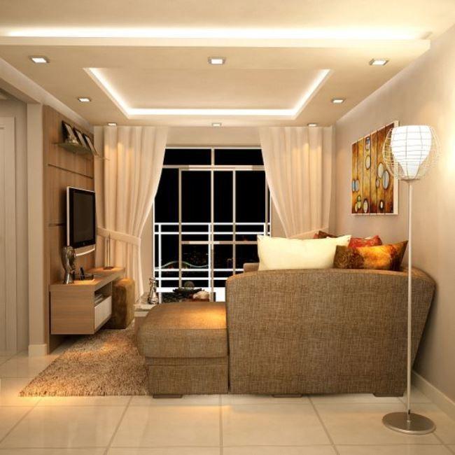 Рассеянный мягкий свет в оформлении интерьера создает теплую и уютную атмосферу