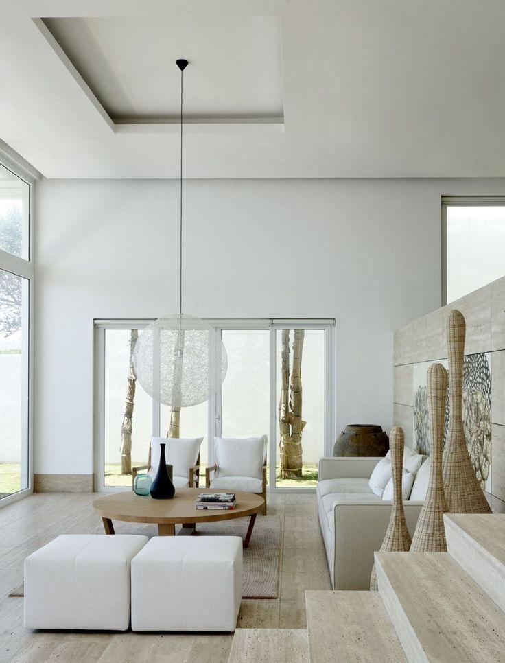 Белоснежный интерьер — это простор и чистота