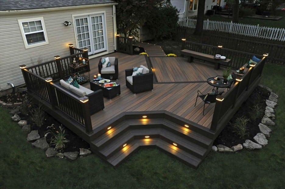 Un éclairage de patio parfaitement planifié