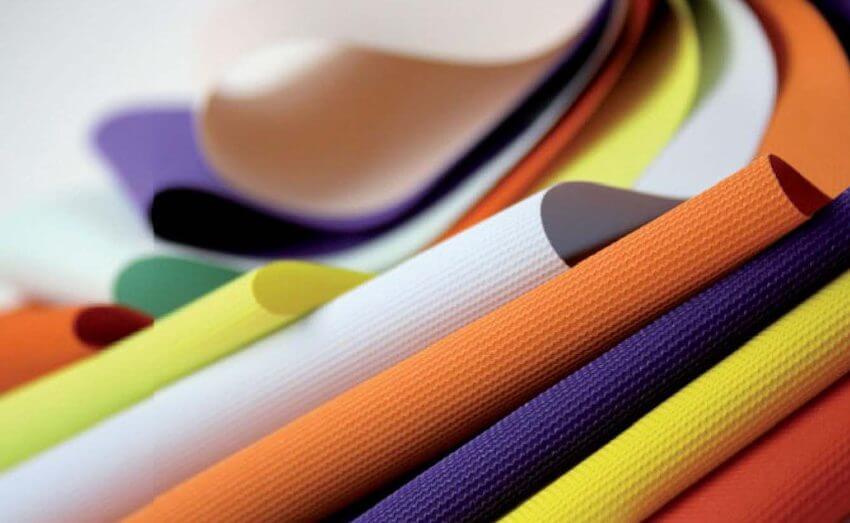 Grand assortiment de couleurs de plafonds extensibles en tissu