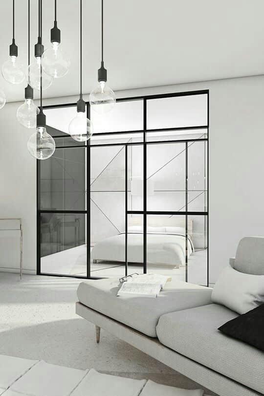 Le blanc remplit votre maison de lumière vive et crée une atmosphère confortable.