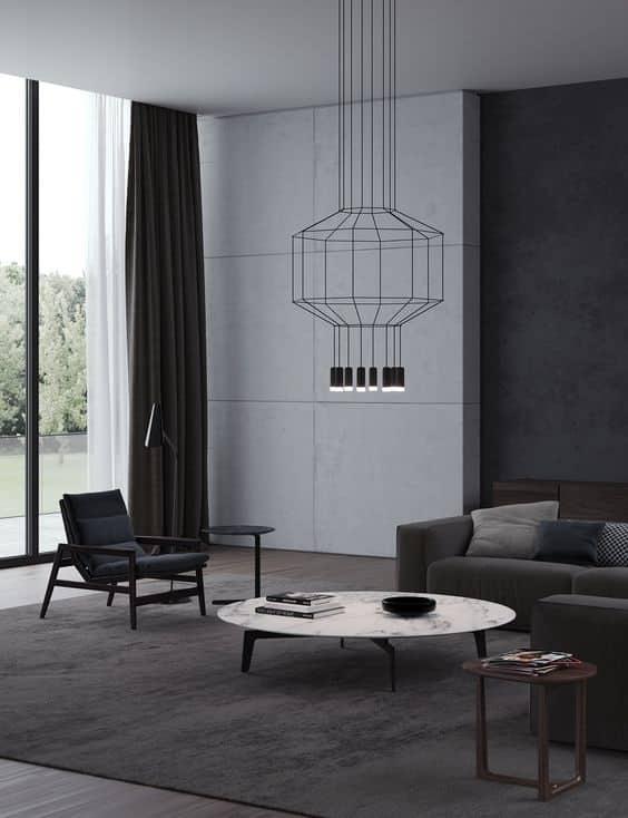 Intérieur de style minimaliste, rien ne révèle mieux le caractère individuel et raffiné de son propriétaire