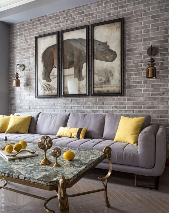 Des éléments de décoration originaux souligneront le style de l'intérieur et le rendront plus élégant