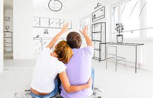 rénovation dans un petit appartement