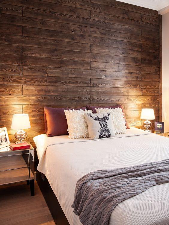 Les tons chauds du bois donneront du peps à votre intérieur en le remplissant de tendresse et de chaleur