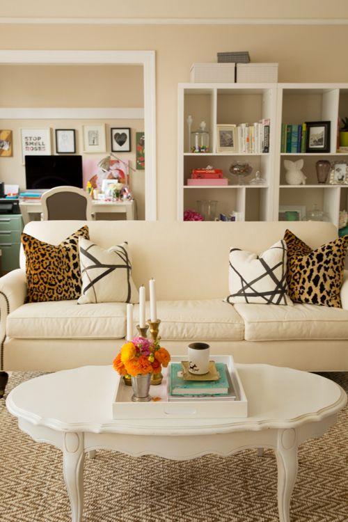 Le beige est l'une des couleurs les plus tranquilles, dans laquelle il est très agréable de se trouver et de se détendre.