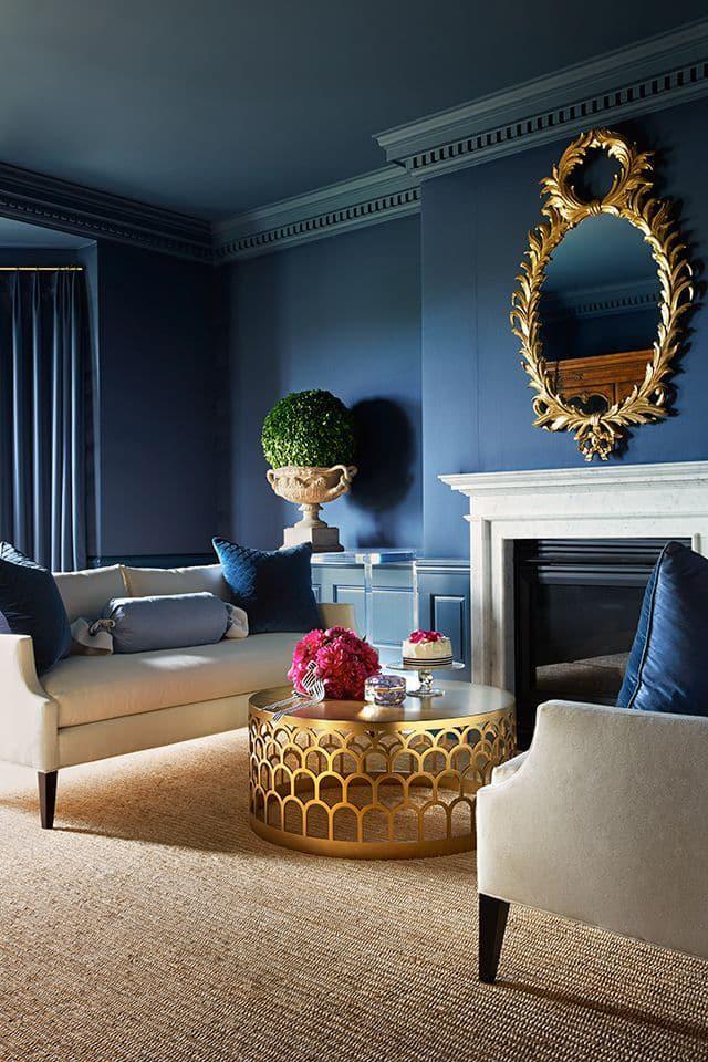 Le potentiel étonnant de la couleur bleue est l'une des couleurs préférées des professionnels du design d'aujourd'hui.