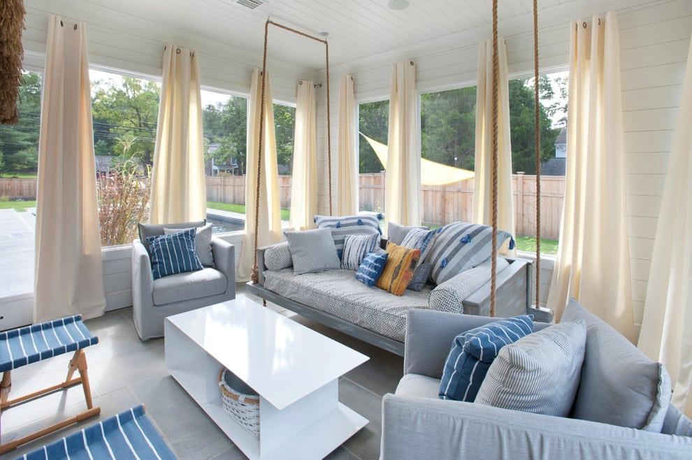 Les teintes nobles et tranquilles créent une atmosphère très confortable.