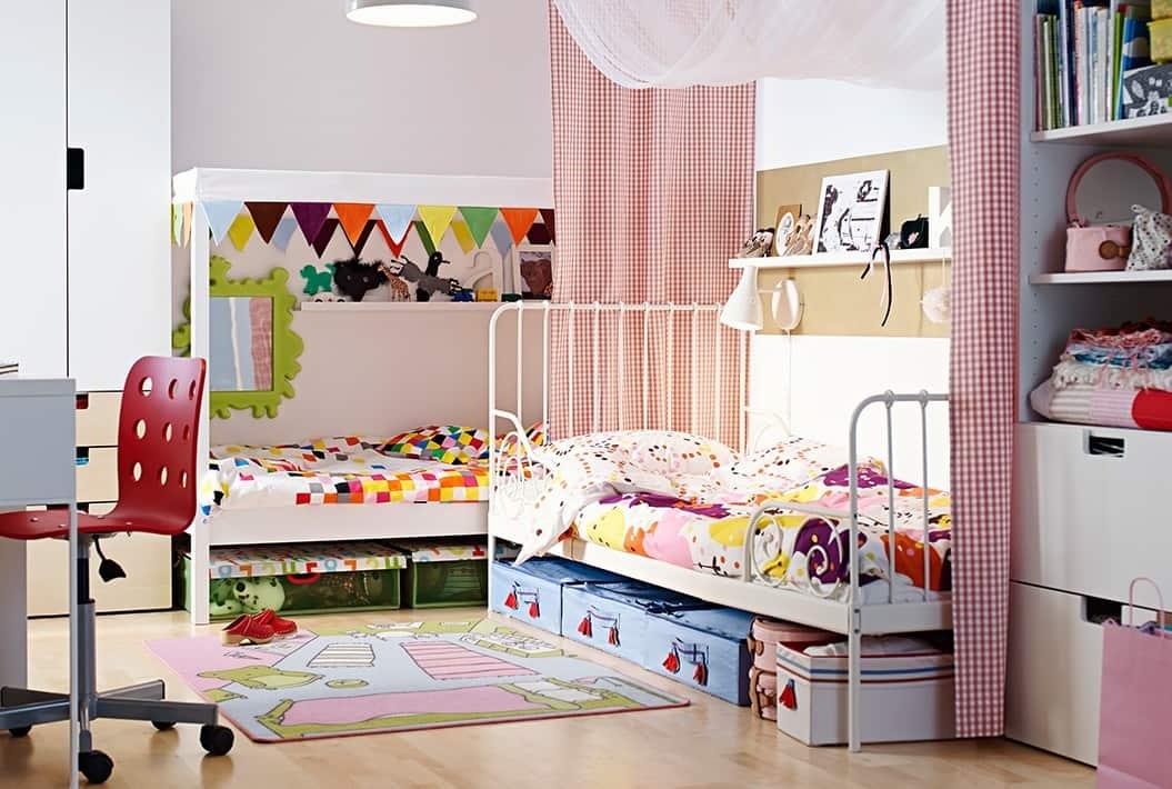 Les rideaux peuvent également être utilisés comme matériau de zonage.