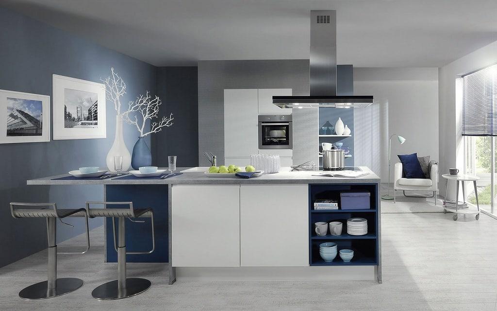 S'il y a des éléments de décor dans la cuisine, ils doivent être réduits au minimum.