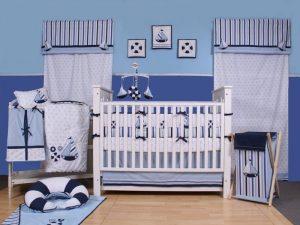 Des rideaux pour le bébé.