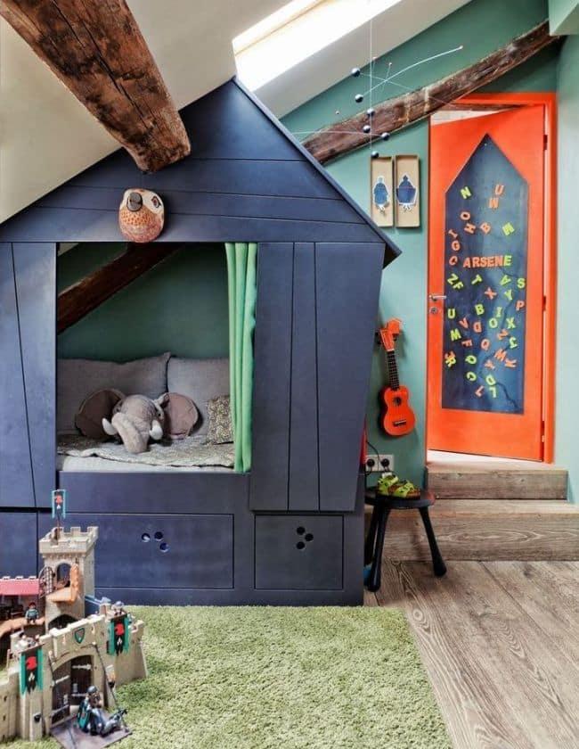 Avoir sa propre maison de jeux pour s'amuser, le rêve de tout enfant.