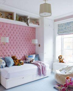 Une belle chambre pour une fille.