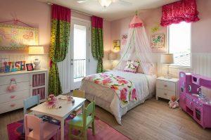 Une chambre pour une princesse.
