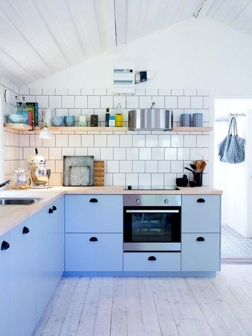 C'est agréable quand la cuisine crée une sensation de chaleur et de confort