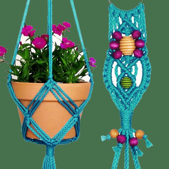 Макраме цветы