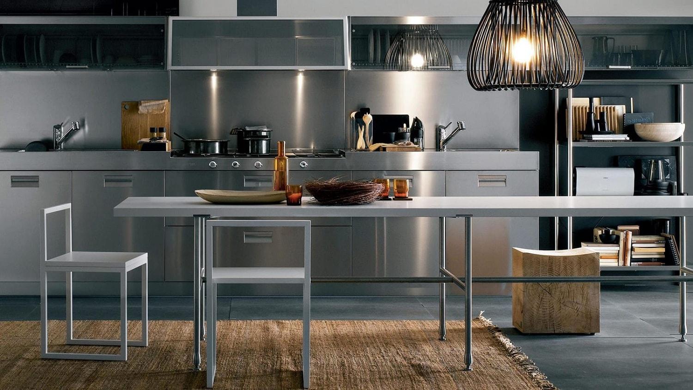 Le métal s'intègre parfaitement dans le style des intérieurs les plus sophistiqués