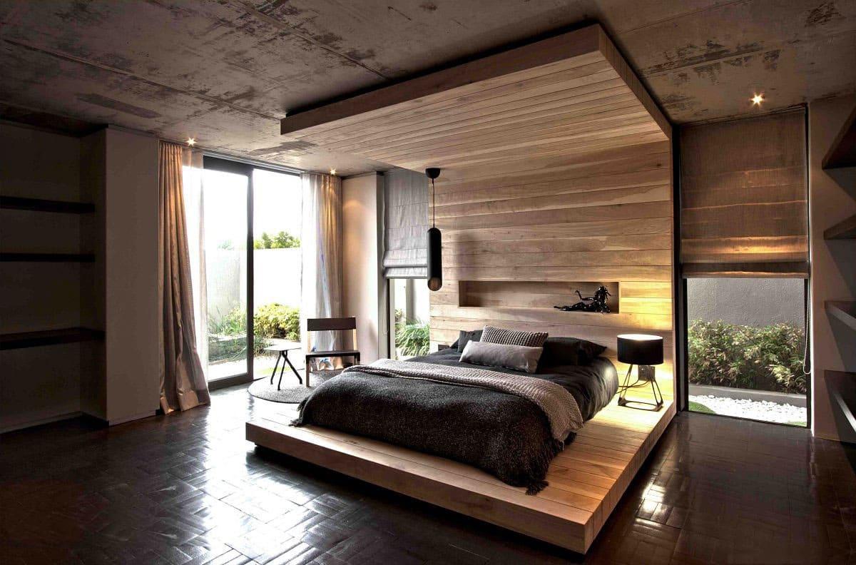 Une chambre de style écologique est une atmosphère incomparable et un incroyable sentiment d'unité avec la nature