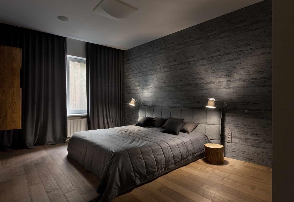 Design de chambre élégant avec un éclairage agréable et discret