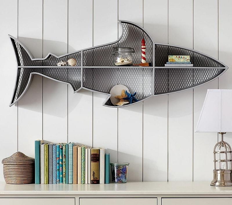 Морская тематика в интерьере детской комнаты будет всегда актуальна
