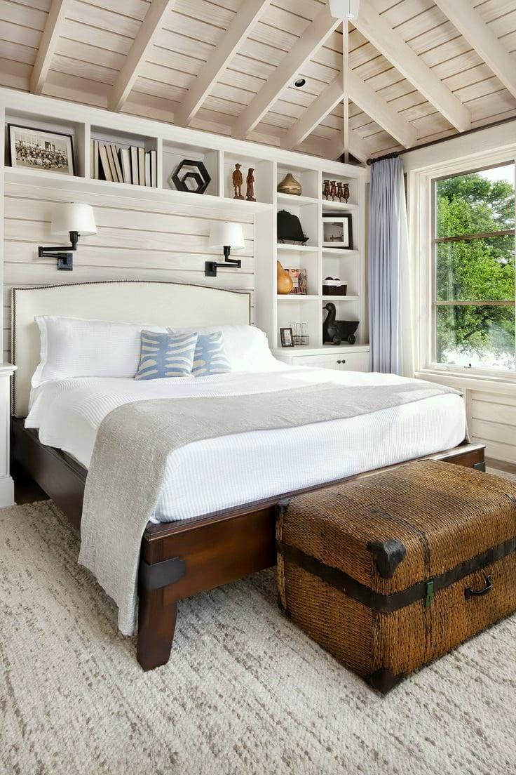 Belle chambre de style champêtre située dans une maison privée