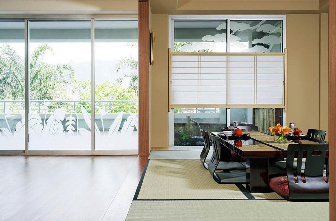 La mise en valeur d'une certaine zone peut également être réalisée avec un tapis ordinaire.