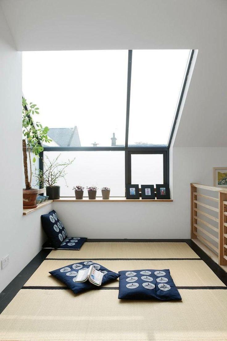 La plupart des intérieurs d'inspiration japonaise sont concis et naturels.