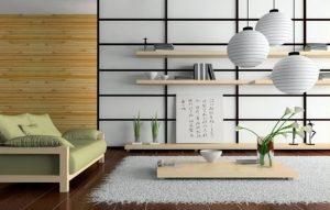 Intérieur de style japonais