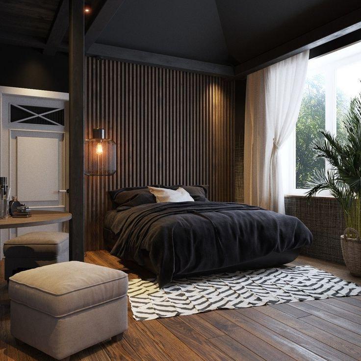 Le confort et le minimalisme sont les principes directeurs du style oriental japonais.
