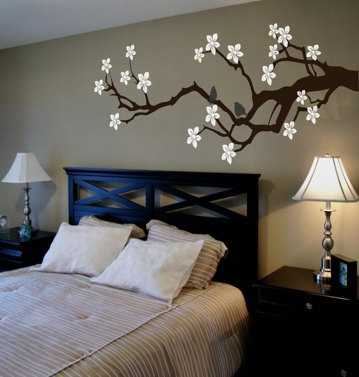 La chambre à coucher est l'endroit où l'on se détend, il n'y a donc pas de place pour les excès.