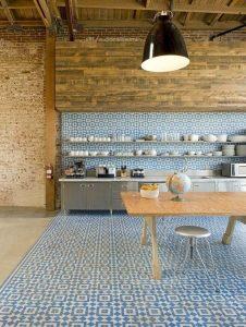Carreaux de sol pour la cuisine