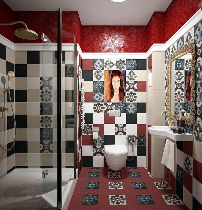Carreaux de salle de bains
