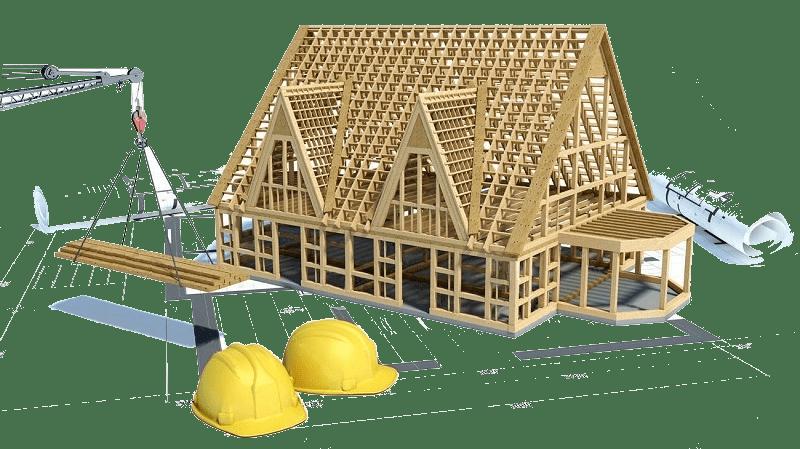 maison à cadre