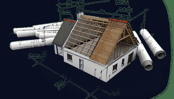 projet de maison à colombage