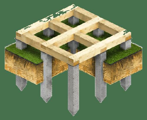 La fondation colonnaire