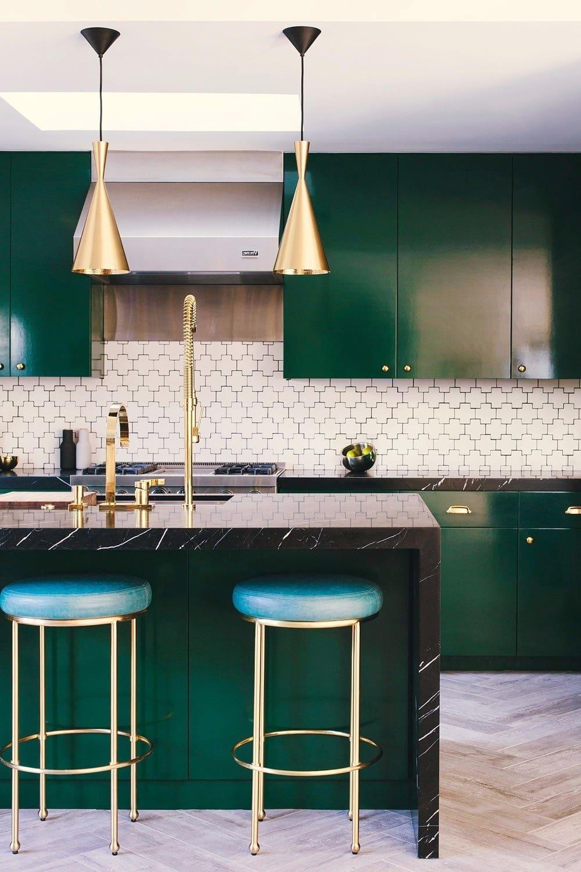 Le vert polyvalent s'adapte à tous les styles d'intérieur