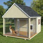 Enclos stationnaire pour chiens