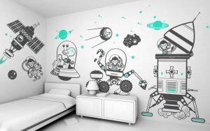 Décoration murale bricolage