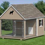 Un bel enclos pour chiens